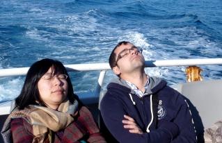 endormis sur un bateau